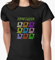 Computer World Women's Fitted T-Shirt