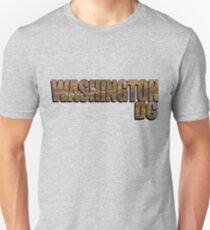 Washington DC Historic Map Unisex T-Shirt