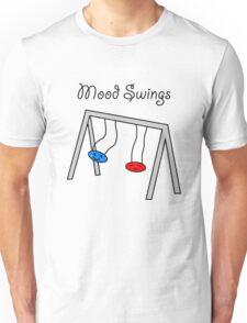 Funny Mood Swings Cartoon Unisex T-Shirt