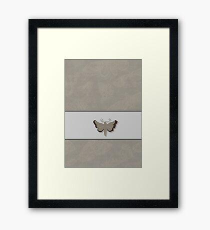 Moth VRS2 Framed Print