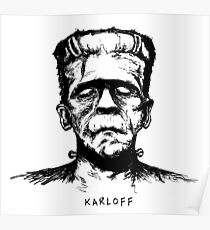 Karloff's Monster Poster