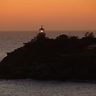 Coming into Sydney just before sunrise by PhotosByG