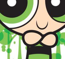 The Green Powerpuff Sticker Sticker