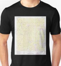USGS TOPO Map Arkansas AR Faith 258431 1962 24000 T-Shirt