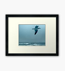 Above the Waves Framed Print