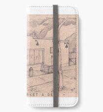 Willamette Market and Deli Sketch iPhone Wallet/Case/Skin