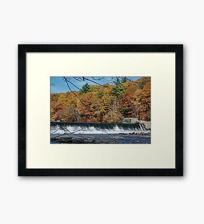 The Dam Framed Print