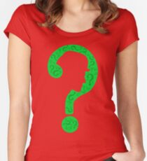 The Riddler ? Women's Fitted Scoop T-Shirt