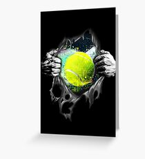 Playing womens clothes greeting cards redbubble my heart is tennis greeting card m4hsunfo