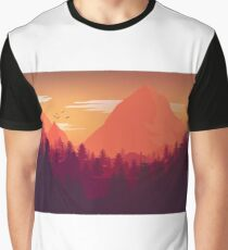 Firewatch Art Design - 4k  Graphic T-Shirt