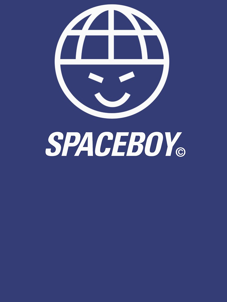 Cheeky Spaceboy Face Logo T-Shirt by Westlake1972