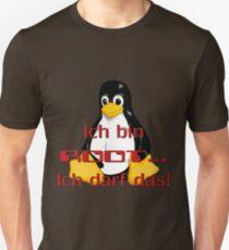 Ich bin Root ich darf das. Unisex T-Shirt