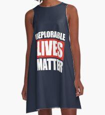 Deplorable Lives Matter A-Line Dress