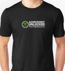 Achievement Unlocked Fatherhood Shirt Unisex T-Shirt