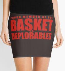 Proud Member of The Basket Deplorable Mini Skirt