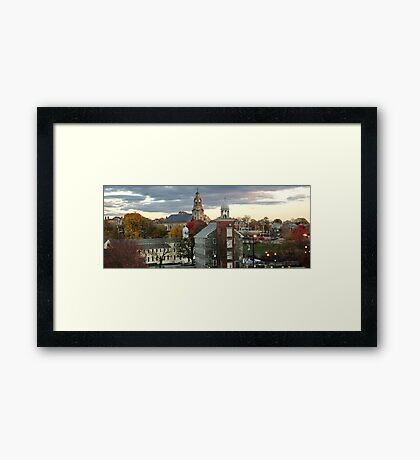 Mill Town Framed Print