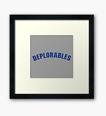 Deplorables Framed Print