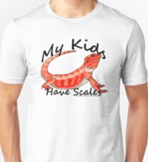 My Kids Have Scales Red Bearded Dragon Unisex T-Shirt