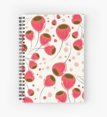 Liebe Tulips Spiral Notebook