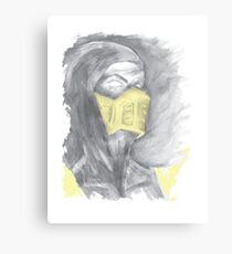 Mortal Kombat Scorpion Canvas Print