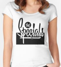 The Specials 2Tone Women's Fitted Scoop T-Shirt