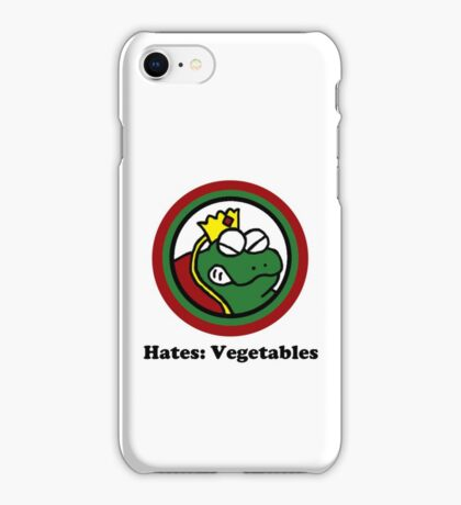 Hates: Vegetables iPhone Case/Skin