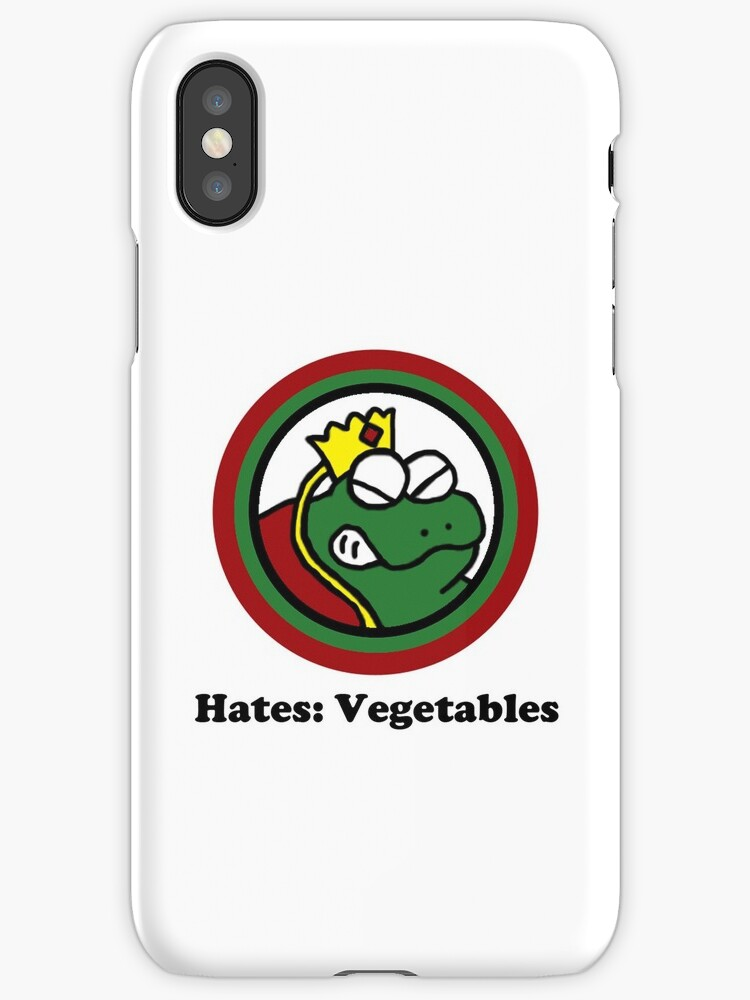 Hates: Vegetables by cudatron