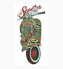 il Scooter Photographic Print
