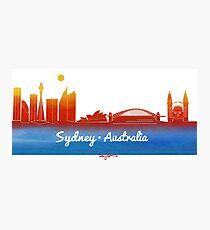 iconic Sydney Australia Photographic Print