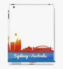 iconic Sydney Australia iPad Case/Skin