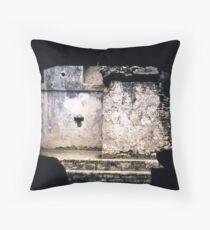 Peephole Mexico Throw Pillow