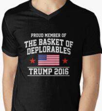 The Basket of Deplorables Men's V-Neck T-Shirt