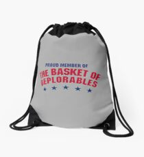 The Basket of Deplorables Drawstring Bag