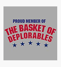 The Basket of Deplorables Photographic Print