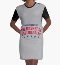 The Basket of Deplorables Graphic T-Shirt Dress