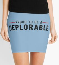 Proud To Be A Deplorable Mini Skirt