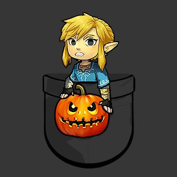 The Legend of Zelda Link Halloween Pumpkin by showart00