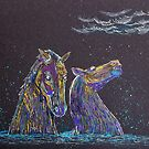 The Kelpies by Pat  Elliott