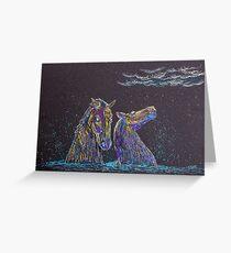 The Kelpies Greeting Card