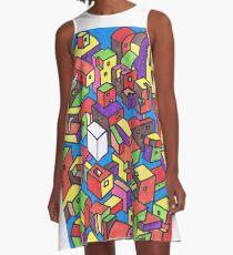 New Town #4 (Colour) A-Line Dress