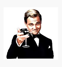 The Great Gatsby Leonardo Di Caprio Photographic Print