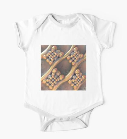 Golden #Fractal Kids Clothes