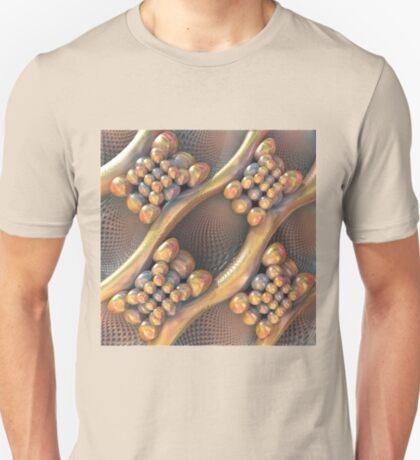 Golden #Fractal T-Shirt