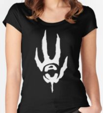 Didact's Hand Women's Fitted Scoop T-Shirt