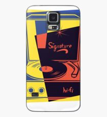 Vintage Turntable Stereo Case/Skin for Samsung Galaxy