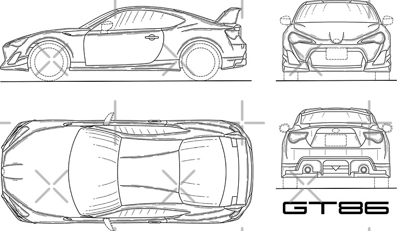 The GT86 Blueprint\