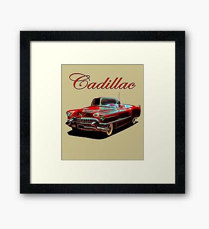 1954 Cadillac Series 62 Framed Print