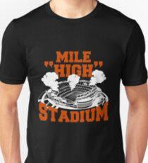 Mile high stadium . T-Shirt