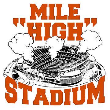 Mile high stadium . by bharadwajreddy
