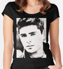 Zac Efron Women's Fitted Scoop T-Shirt